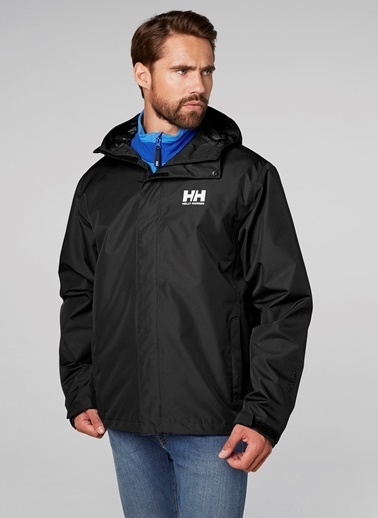 Helly Hansen Yağmurluk Siyah